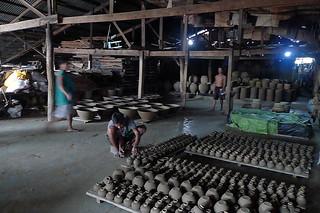 Ilocos Sur - Pagburnayan pottery storage
