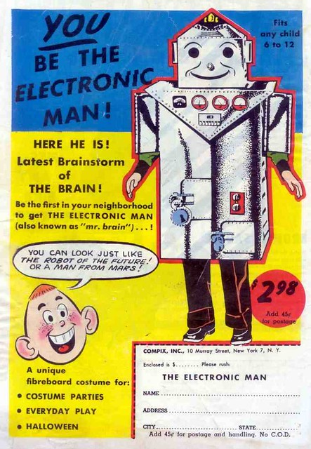You Be the Electronic Man!
