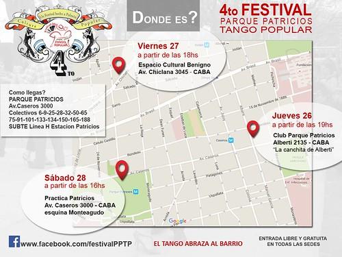 4 FESTIVAL DE TANGO EN PARQUE PATRICIOS 2015