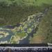 Vue aérienne sur une rivière bigarrée de la vallée du Grand Rift. by MONUSCO