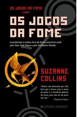 Capa da edição portuguesa: The Hunger Games / Os Jogos da Fome