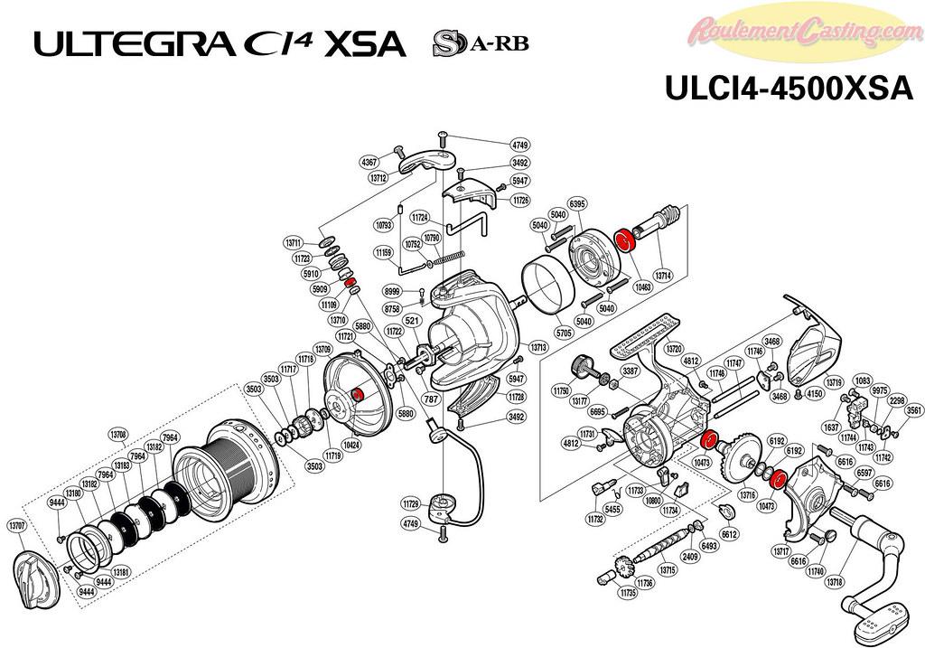 Schéma-Schimano-Ultegra-CI4-4500XSA