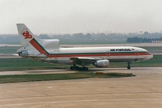 "TAP Air Portugal Lockheed L-1011-385-3 TriStar 500 CS-TEE ""St. Antonio de Lisboa"""