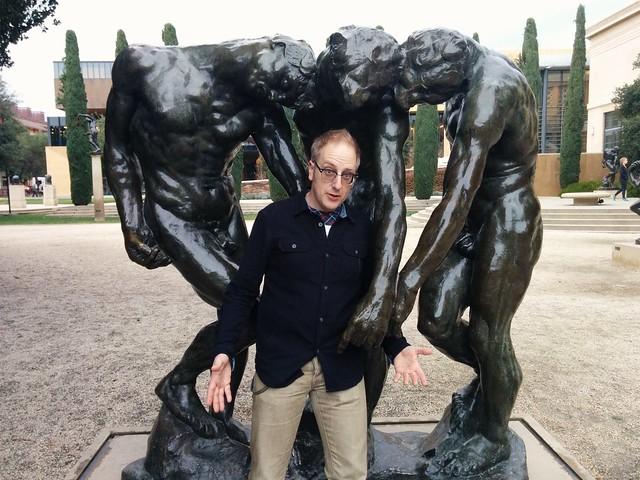 Doc in the Rodin Garden