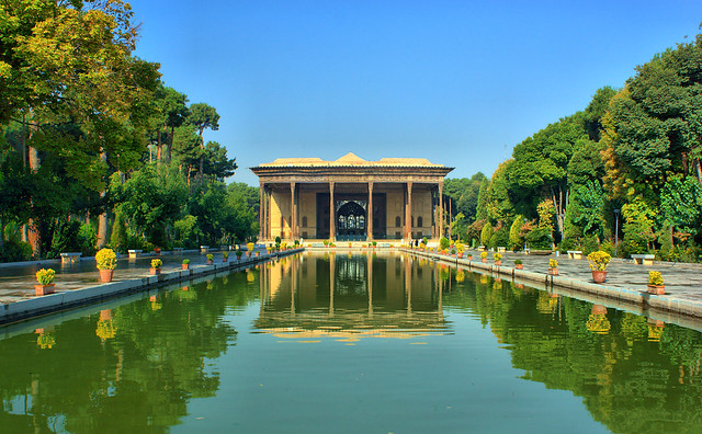Chehel Sotoun Palace, Isfahan, Iran (Persia)