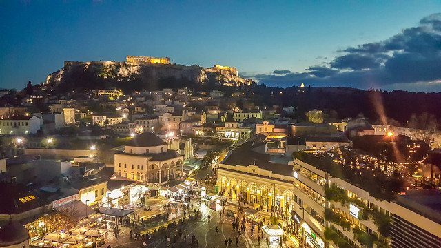 Athens by Night....