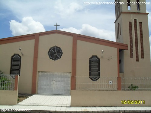 Lagoa da Canoa - Igreja de São Maximiliano