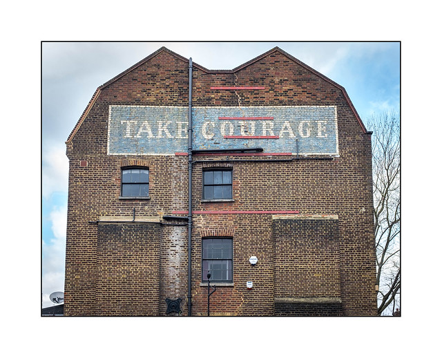 John Courage Brewery, Borough, South East London, England.