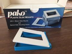 PAKO slide mounting tool