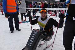 Neuvěřitelné! Hendikepovaný sportovec Jan Tománek absolvoval Vasaloppet 2017 na sledgi!
