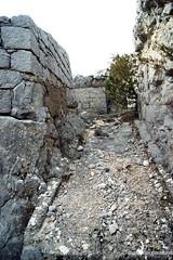 Фрагмент артиллерийской площадки