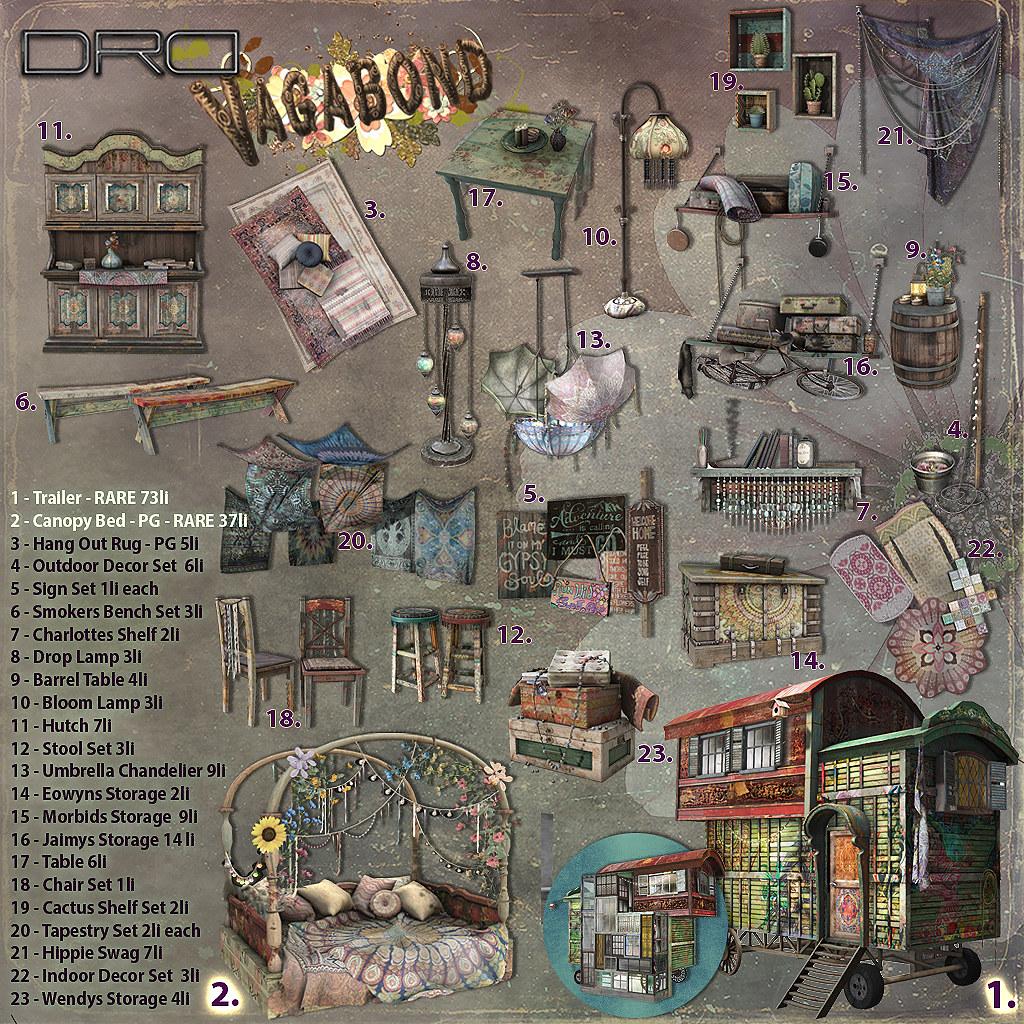 DRD vagabond Key - SecondLifeHub.com