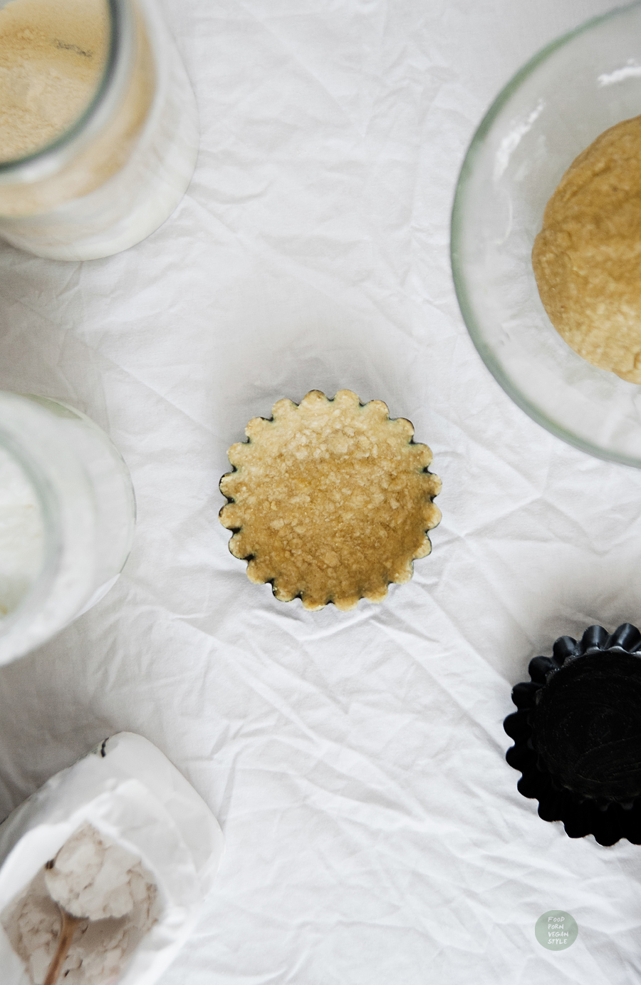 Vegan gluten-free pie crust (sweet and savory version)