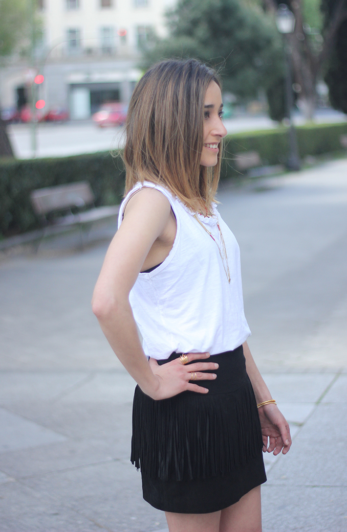 How To Wear Fringes Summer Outfit06