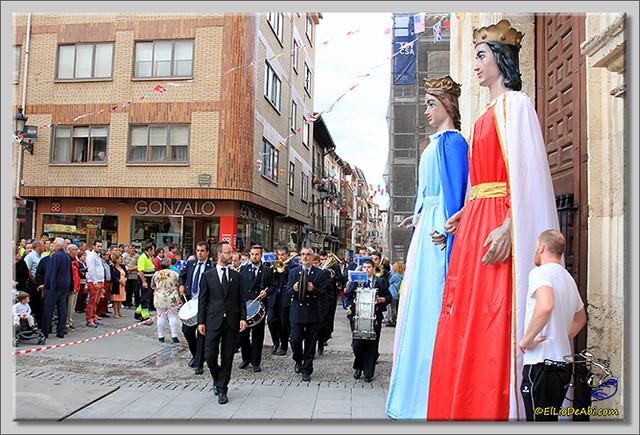 Briviesca en Fiestas 2.015 Proclamación de las Reinas y lectura del Pregón (1)