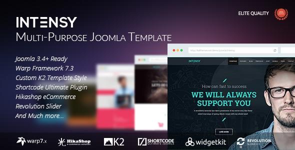Themeforest Intensy – Multipurpose Joomla Template