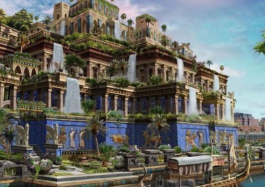 Mythical Hanging Gardens Of Babylon Garden Ftempo
