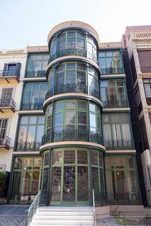 Bilde av Casa Lleó Morera nær Eixample. barcelona spain modernisme casalleómorera