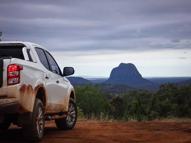 4WD in the Glasshouse Mountains