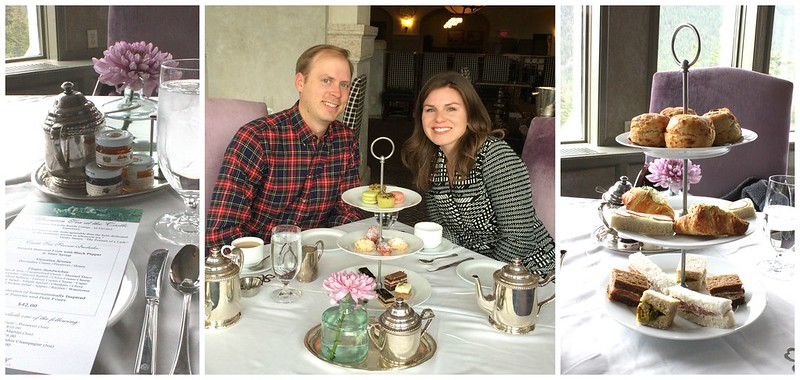 Fairmont Banff Spring High Tea