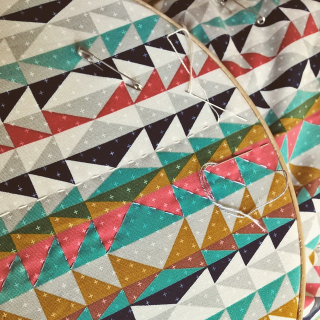 Wholecloth-quilting
