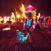 DSC02262 - Woman with Glowing EL-Wire Costume - Burning Man 2015