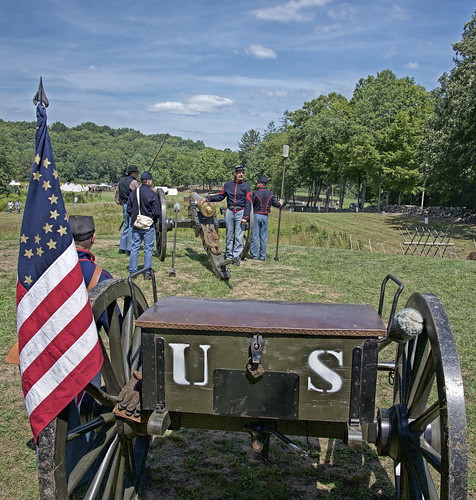 Amazing Civil War Encampment