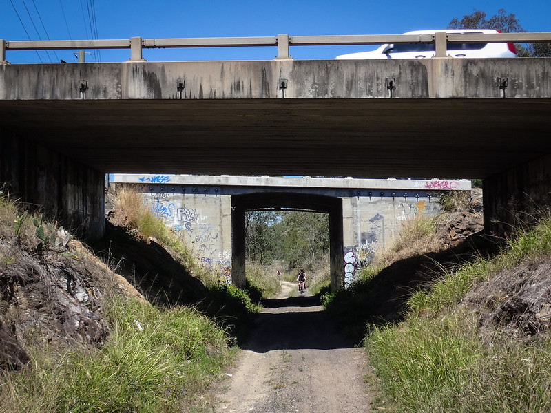 Railtrail Bridge - Warrego Highway