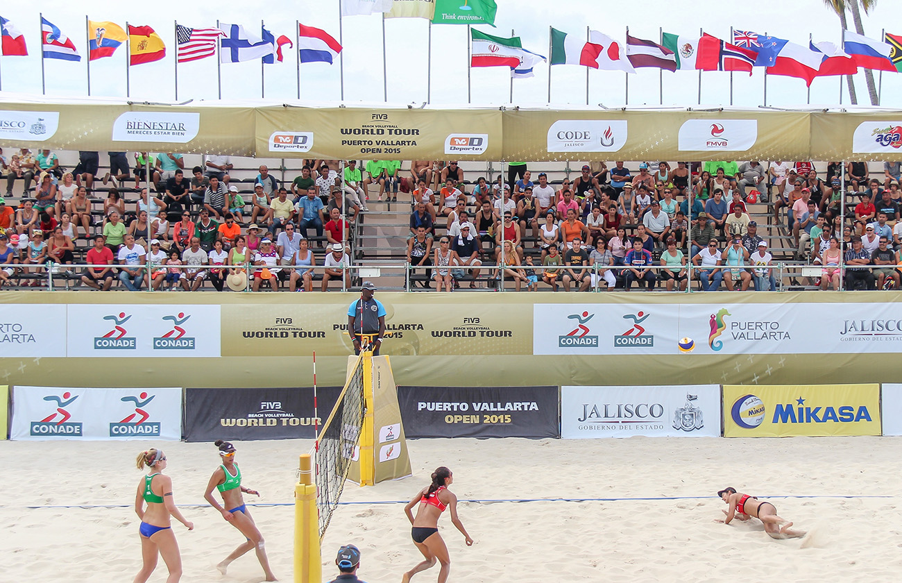 Nuestras Mexicanas en World Tour de Beach Volleyball Puerto Vallarta