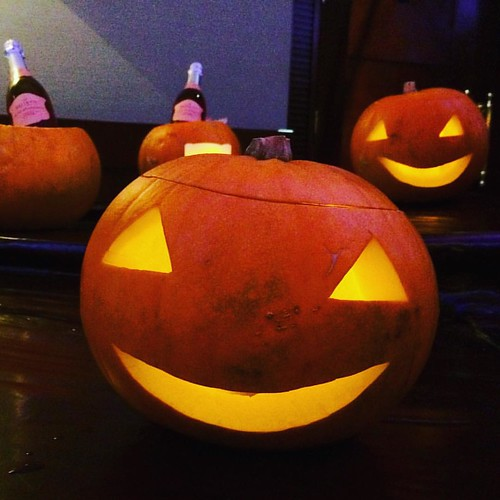 Smile for the camera, Jack! #jackolantern #pumpkin #halloween #leaders2015