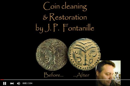 Coin Cleaning and Restoration video