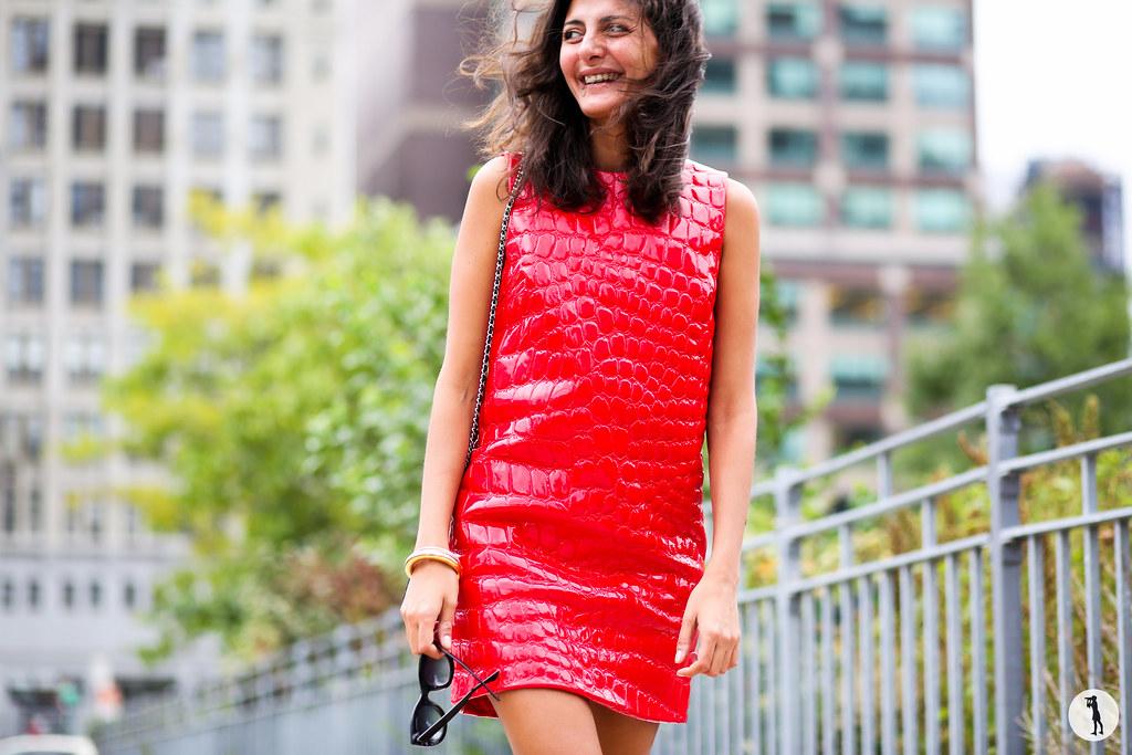 Giovanna Battaglia at NYFW