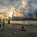 a foggy jog - Explored by loco's photos