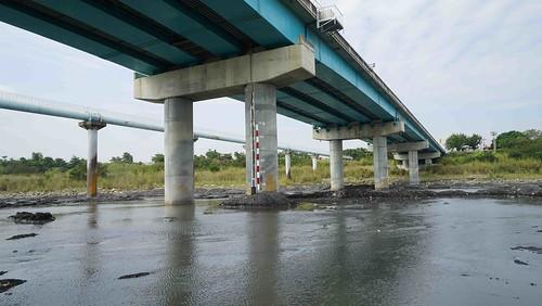 於名竹大橋系統安裝完成照片