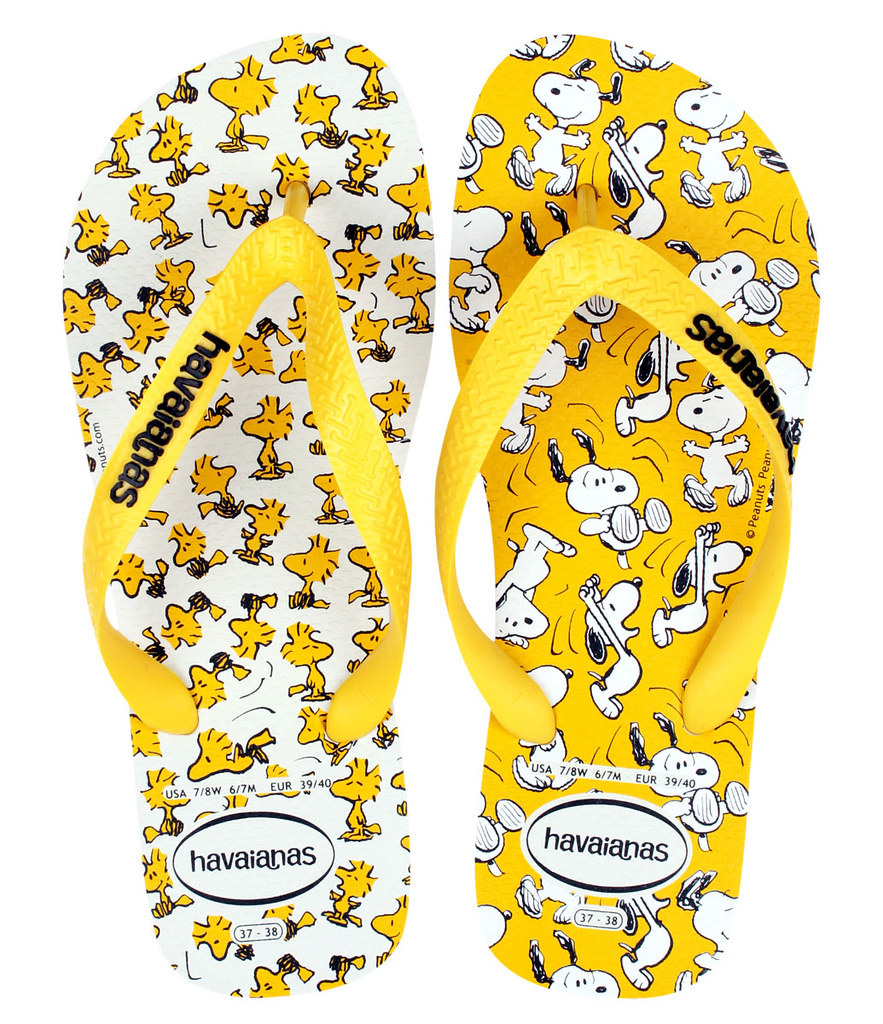 50acc98ba3 Havaianas Snoopy Collection - Life on a Flavored Runway by Jean Yu