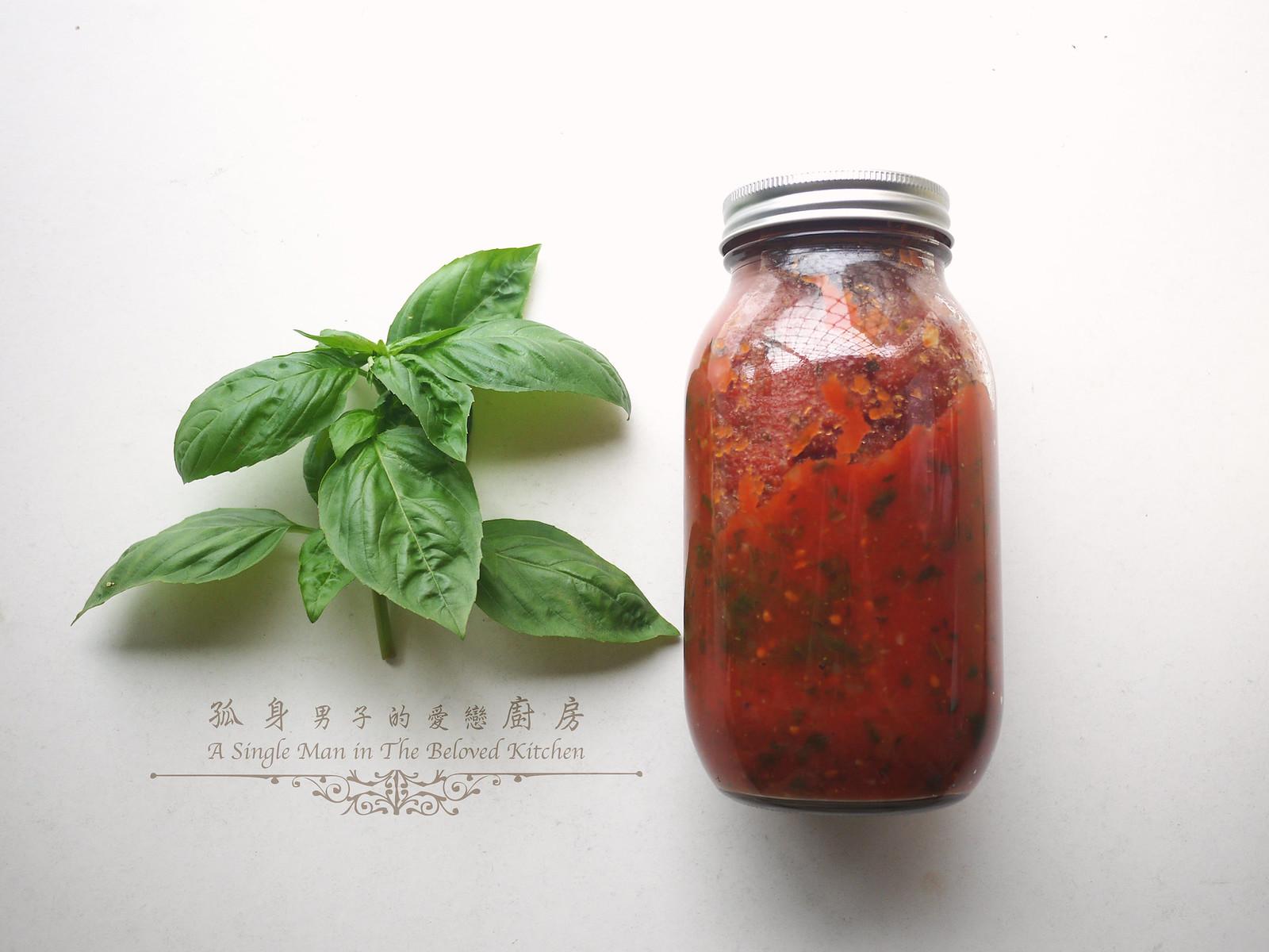 孤身廚房-義大利茄汁紅醬罐頭--自己的紅醬罐頭自己做。不求人32