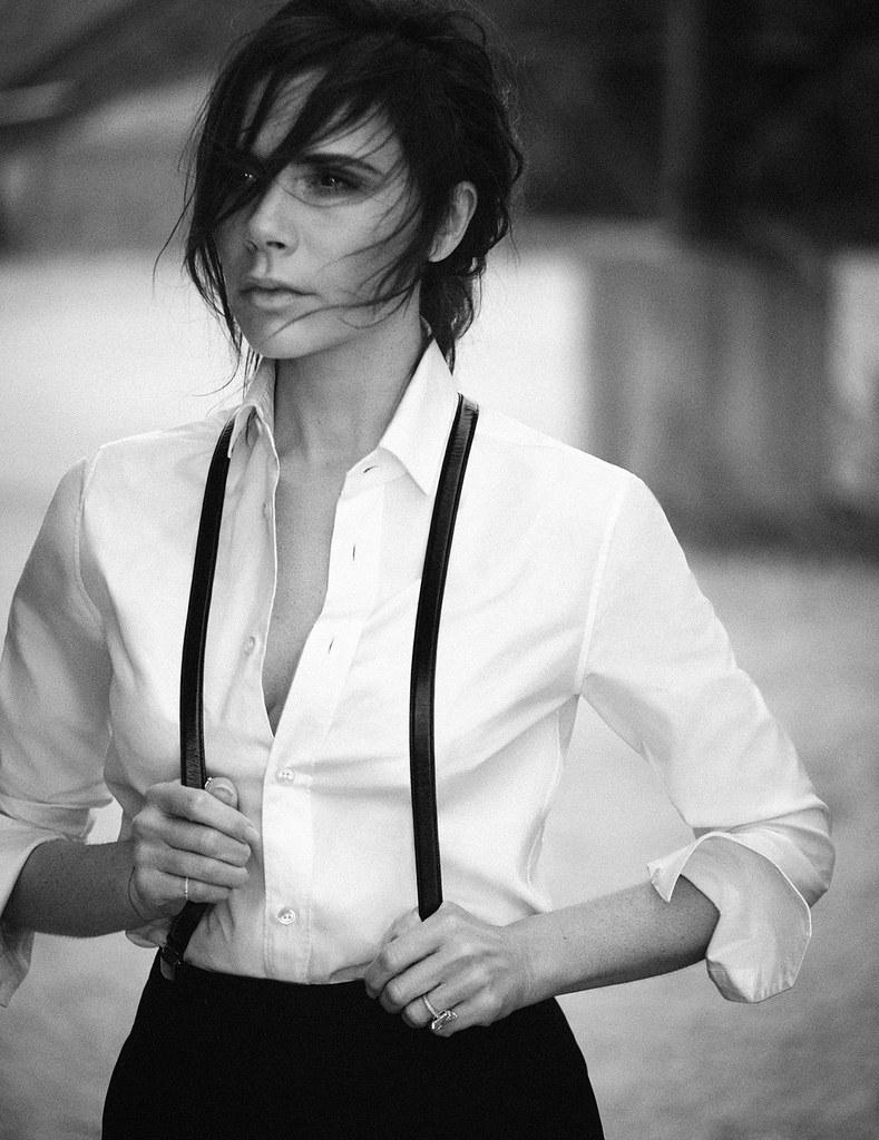 Виктория Бекхэм — Фотосессия для «Vogue» DE 2015 – 10