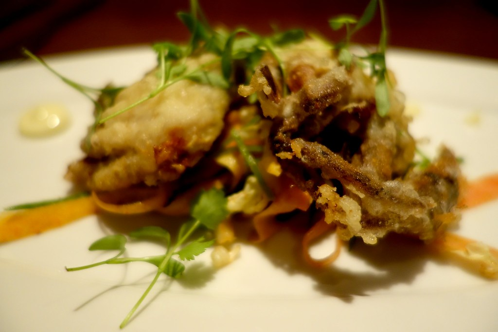 Soft Shell Crab Tempura, The Crab at Bournemouth, #Bloggerlodge
