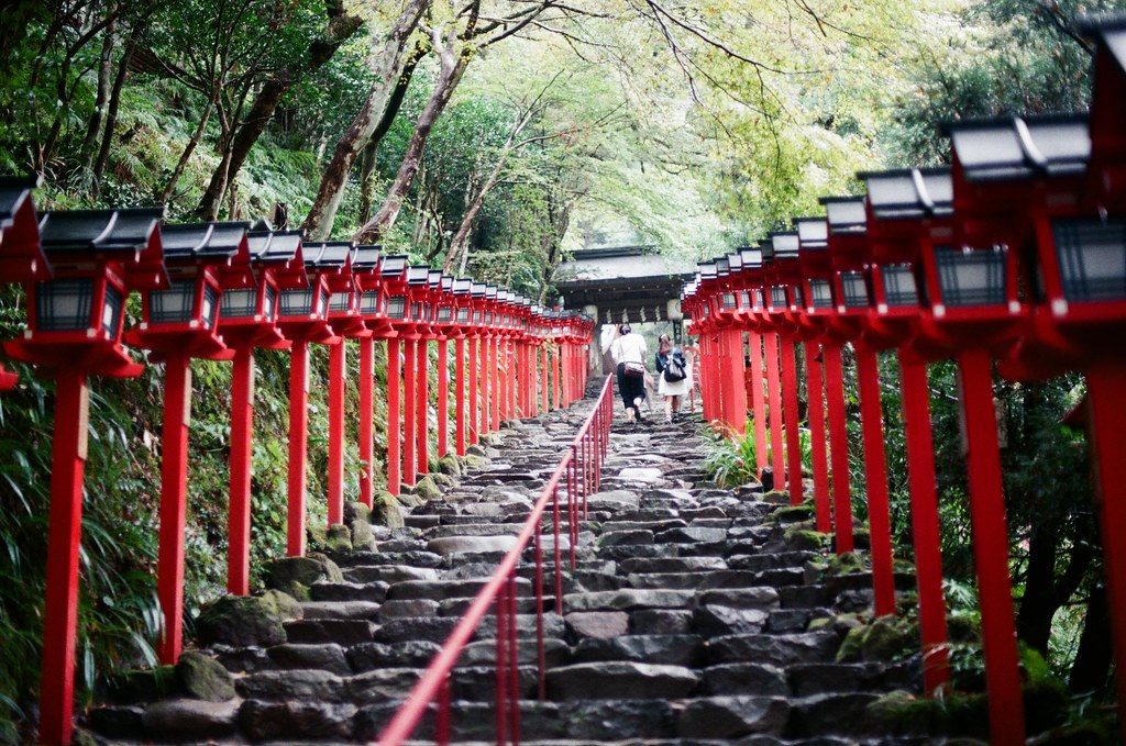 貴船神社 京都 Kyoto 2015/09/24 要爬長長的階梯,但其實還好。  Nikon FM2 Nikon AI Nikkor 50mm f/1.4S Kodak ColorPlus ISO200 0949-0023 Photo by Toomore