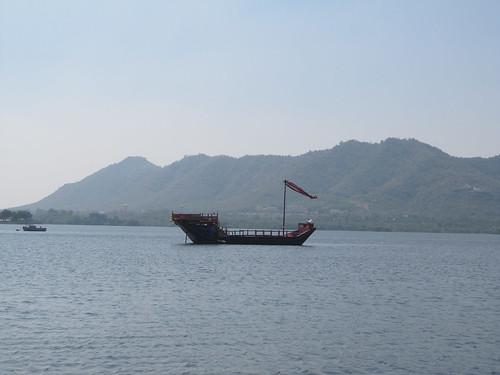 Udaipur: le bateau du maharaja