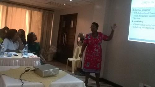 2015-11-19~20 Kenya: KUDHEIHA - National Domestic Workers Council democratically elected