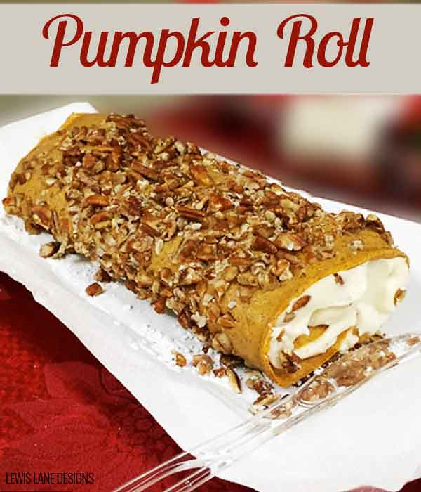 Pumpkin Roll Recipe by Lewis Lane