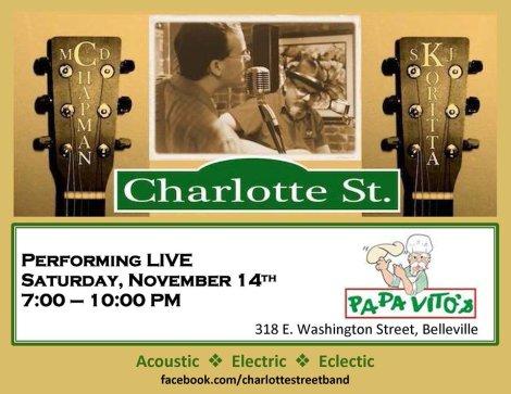 Charlotte Street 11-14-15