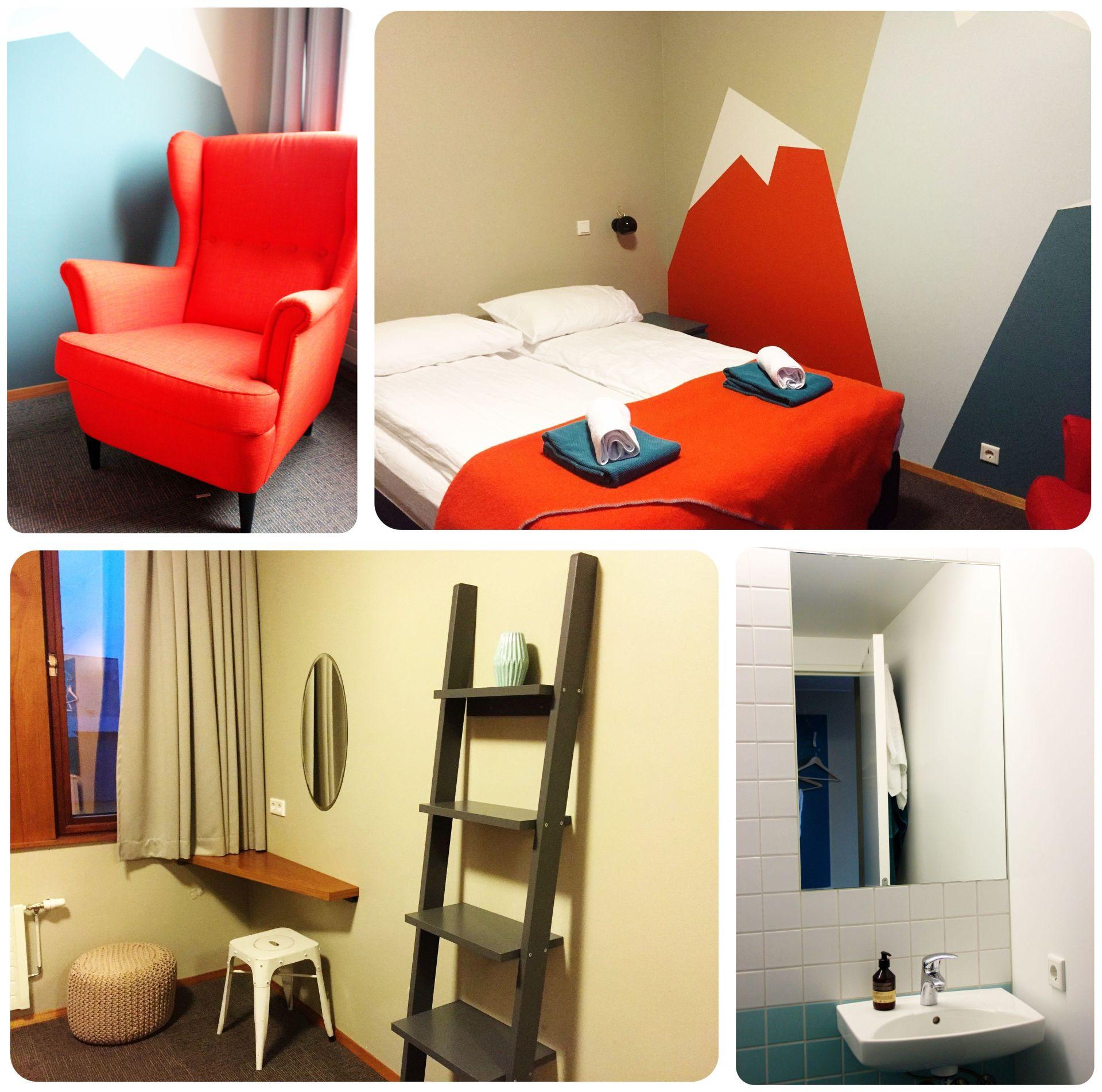Reykjavik Loft Hostel Room