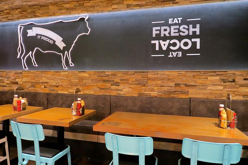 uk scottish lifestyle blogger bread meats bread burger restaurant edinburgh