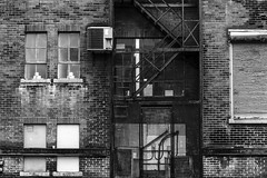 Fire Escape and A Loading Dock