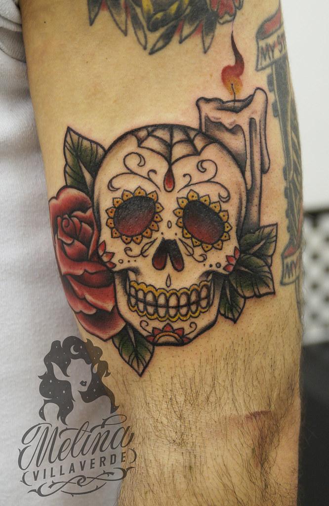 2002cf3d2ea Mexican Skull Tattoo
