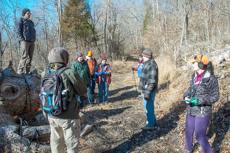 Hoosier National Forest - Buffalo Trace - Sierra Club Hike - December 19, 2015