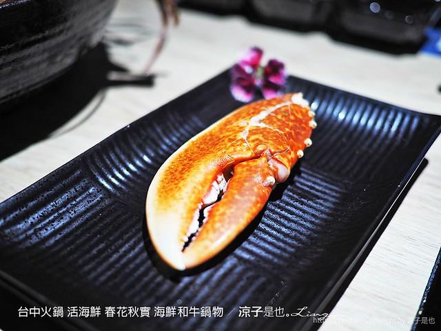 台中火鍋 活海鮮 春花秋實 海鮮和牛鍋物 106