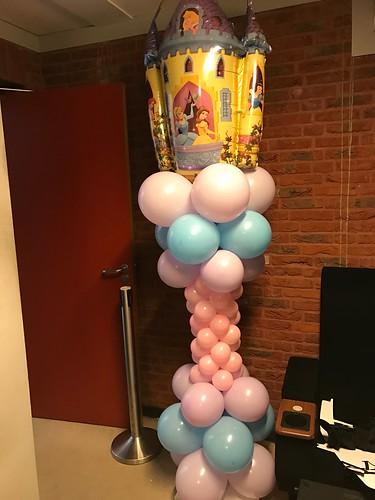 Ballonpilaar Disney Prinsessen Arcaplex Spijkenisse